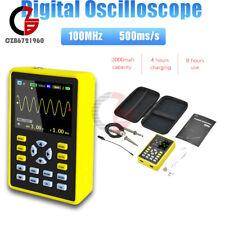 Handheld 5012h Digital 24 Inch Oscilloscope Ips Lcd Screen Dso 100mhz 500msas