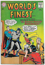 World's Finest #136 (1963 fn/vf 7.0) guide value in this grade: $42.50 (£32.00)