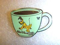 Disney pin -WDW Cast Lanyard Collection 4 - Coffee Mugs (Pluto)