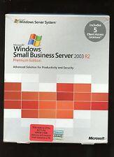 Open Box - T75-01255 Microsoft Small Business Server Premium 2003 R2 5 CAL