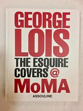 "George Lois: The ""Esquire"" Covers at MOMA Hardcover SIGNED & INSCRIBED FREE POST"