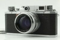 【EXC+++】Canon IId 2d Rangefinder L39 w/ 50mm f/1.8 Lens FedEX✈ From JAPAN A069