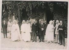RAMBOUILLET c. 1930 - Sultan du Maroc Mohamed V Albert Lebrun - PRM 446