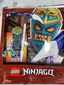 LEGO NINJAGO: Thunder Keeper Minifigure Polybag 892176 New Sealed Packet