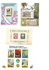 Guatemala: 1950; 1990, 6 Souvenir Sheets different, minimun defects,  EBG023