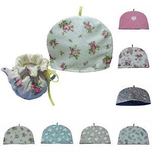 Vintage Fabric Tea Cozies Flower Pattern Tea Cosy Tea Pot Insulation Dust Cover