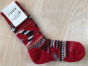 CHUP™ Smartwool® Socks | Made in USA | Crimson
