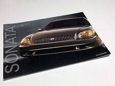 2001 Hyundai Sonata Brochure