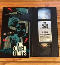 VHS: .THE OUTER LIMITS DOUBLE Episode The Inheritors The Chameleon