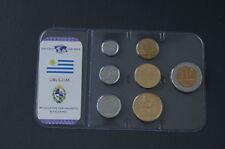 Kursmünzensatz Uruguay  Das Geld der Welt von MDM Original verschweißt