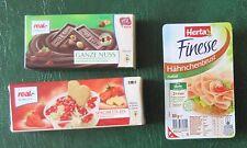 """Real Minis """"Spaghetti-Eis,Finesse+Nuss-Schokol."""" Kinder Kaufladen NEU unbespielt"""
