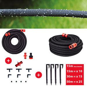 Grafner® Perlschlauch Tropfschlauch Gartenschlauch Bewässerungsschlauch Schlauch