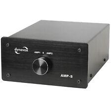 Dynavox Verstärkerumschalter und Boxenumschalter AMP-S, Schwarz