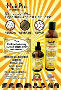 HAIRPRO STRONG ANTI-HAIR LOSS THINNING GROWTH TREATMENT & SHAMPO COMBO SET