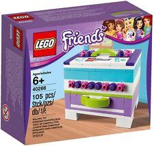 LEGO 40266 FRIENDS : Mini Keepsake Box, exclusive, STORAGE, Promotion, Sealed
