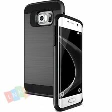 Shockproof Hybrid Hard Skin Case Cover For Samsung Galaxy S4/S5/S6/S7/S8 Edge +