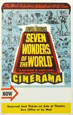 SEVEN WONDERS OF THE WEST Movie POSTER 27x40 B