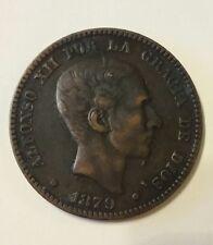 España 1879 diez diez centimos