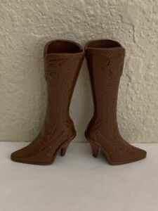 Barbie Doll Brown Boots (Fits My Scene Barbie Doll)