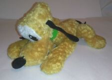 Disneyland Paris Pluto Yellow Dog Plush Soft Toy Animal Figure Tv Film Character