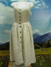 Leinene ärmellose Damen-Trachtenkleider & -Dirndl im Vintage