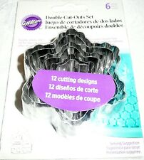 Wilton Cake Fondant Double Cut-Outs FLOWER DESIGN