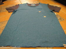 Men's Modern amusement pocket soft Crow RARE T shirt large blue heather NEW NWT