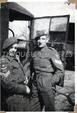 DVD SCANS OF  SOLDIERS WW2 PHOTO ALBUM 1ST BATTALION THE BORDER REGIMENT 44-47