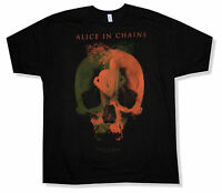 Alice In Chains Fetal Hollow Tour 2013 PA-NV Black T Shirt New Official Merch