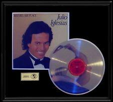 Julio Iglesias Bel Air Place Rare Lp Gold Record Platinum Disc Album Frame