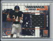 2003 DONRUSS ELITE WALTER PAYTON & RED GRANGE DUAL JERSEY #D/75 CHICAGO BEARS