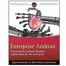 Enterprise Android: Programming Android Database Applications fo.. 9781118183496
