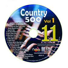 KARAOKE CHARTBUSTER CD+G COUNTRY 500 CB8532 VOL.1 DISC # 11
