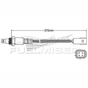 Fuelmiser Oxygen Lambda Sensor COS1333 fits Nissan Murano 3.5 4x4 (Z51)