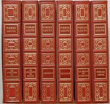 CHEFS-D'ŒUVRES DE PIERRE LOUYS Les aventures du roi Pausole, poèmes libres