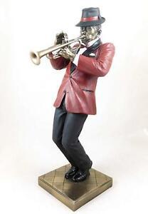Jazz Musician Figurine - Trumpet Player
