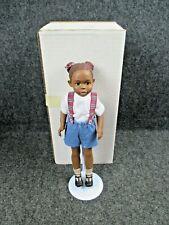 """All God'S Children By Miss Martha Originals Figurine """"Anika"""" Edition # 5700"""