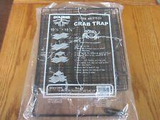 1 CRAB TRAP 215 - CT DOLPHIN BRAND BOX TYPE COMPACT FOLDING CRABBING TRAPS