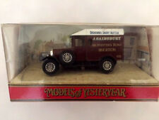 Matchbox Models of Yesteryear Y19 1929 Morris Cowley Van J. Sainsbury