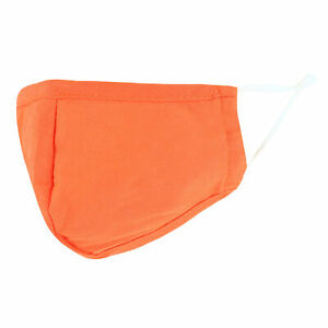 New CTM Kid's Solid Neon Color Adjustable Face Mask