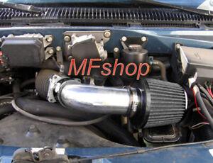 All Black For 1996-2005 Chevy Astro Van GMC Safari 4.3L V6 Air Intake + Filter