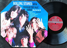 THE ROLLING STONES - THROUGH THE PAST DARKLY Very rare OZ red Label STEREO LP!