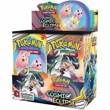 Pokemon TCG:SUN & MOON COSMIC ECLIPSE BOOSTER BOX SEALED new + XTRACODE CARD