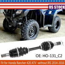 for Honda TRX420FM1 TRX420FM2 Rancher 420 4X4 2014-16 Front Left and Right Axles