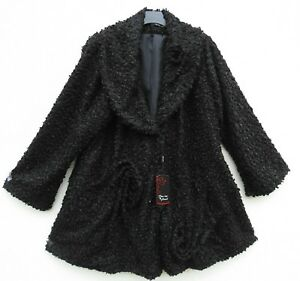 NEU Classics & More Herbst Jacke Mantel Jacket Veste Giacca L 48 50 Lagenlook