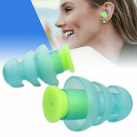 Ear Plugs Noise Canceling Reduction Hearing Protector Concert Music Sleep + Case