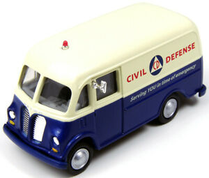 Classic Metal Works Metro Delivery Truck-Civil Defense #30405