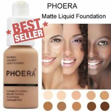 PHOERA Soft Matte Full Coverage Liquid Foundation UK BJ - 2019