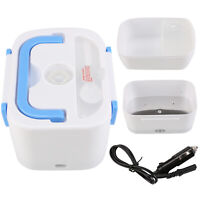 UK Portable 12V Car Adapter Plug Electric Lunch Box Heated Bento Food Warmer