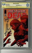 Walking Dead # 58 - CBCS 9.8 WHITE Pages SS Michael Cudlitz w Remark